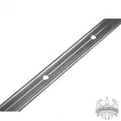 Планка прижимная алюминиевая РОКС (3000х25х2,5 мм) - фото 7140