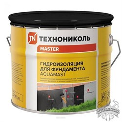 Мастика Технониколь AquaMast для фундамента (3 кг) - фото 7166