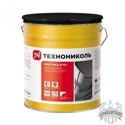 Мастика Технониколь №57 защитная алюминиевая (20 кг) - фото 7172