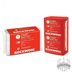 Базальтовая вата Rockwool Лайт Баттс (1000х600х50 мм) - фото 7619