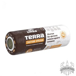 Утеплитель Ursa Terra 35 QN Скатная крыша (3900х1200х150 мм) - фото 7707