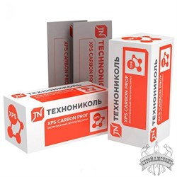 Экструдированный пенополистирол Технониколь XPS Carbon Prof (1180х580х40 мм) - фото 7775