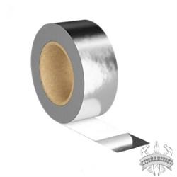 Клейкая лента металлизированная Изоспан FL termo (40000х50 мм) - фото 7808