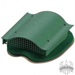 Аэратор кровельный Татполимер TP-88/S Зеленый - фото 7943