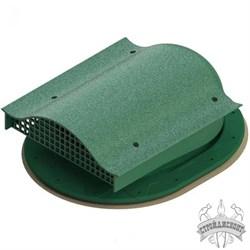 Аэратор кровельный Татполимер TP-88/F Зеленый - фото 7944
