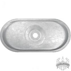 Стальной тарельчатый элемент (СТЭ) Termoclip-кровля 2 / CV овальный (400 шт/упак) - фото 7962