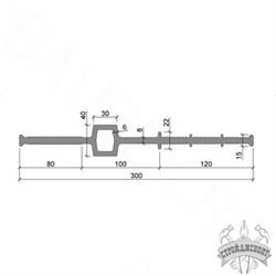 Гидрошпонка ПВХ-П Аквастоп ДВС-300/30 - фото 8104