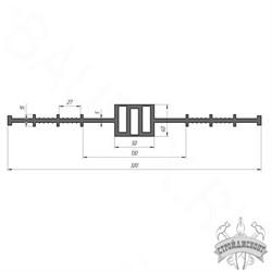 Гидрошпонка ПВХ Гидроконтур ЦД-320К50 - фото 8138