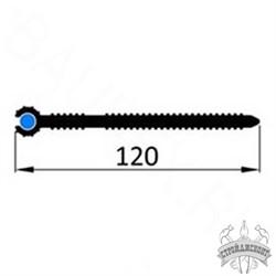 Гидрошпонка ПВХ Icopal ХВС 120/2 (D4) - фото 8171