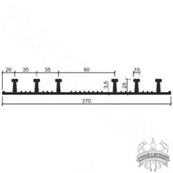 Гидрошпонка EPDM Аквастоп ХО-270-6/25 - фото 8184