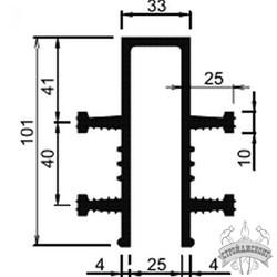 Гидрошпонка EPDM Аквастоп ДЗ-100/25-4/25 - фото 8185