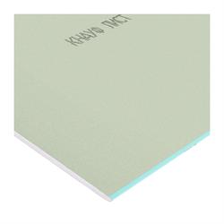 КНАУФ Гипсокартон влагостойкий 2500х1200х12,5мм - фото 8798