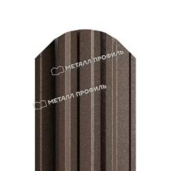 Штакетник металлический МП TRAPEZE-O 16,5х118 (VALORI-20-Violet-0.5) - фото 8834