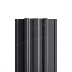 Штакетник металлический МП TRAPEZE-T 16,5х118 (ПЭД-01-7024\7024-0.45) - фото 9107