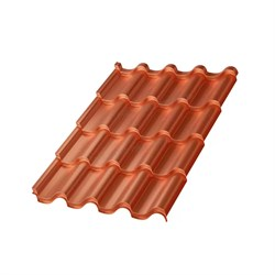 Металлочерепица МП Монтерроса-S (AGNETA-03-Copper\Copper-0.5) - фото 9124