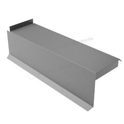 Планка сегментная торцевая левая 400 мм (PURETAN-20-RR23-0.5) - фото 9336