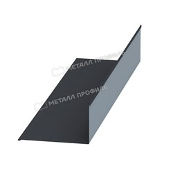 Планка примыкания верхняя 140х90х2000 (ПЭ-01-7024-0.45) - фото 9511