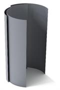 ПВХ-металл PLASTFOIL FERROPLAST 1000*2000мм
