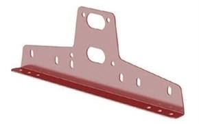 Кронштейн универсальный для снегозадержателя BORGE для металлочерепицы, медь, Тип 1