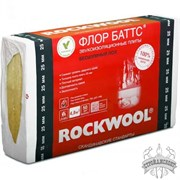 Утеплитель Rockwool Флор Баттс (1000х600х25 мм)