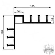 Гидрошпонка ПВХ Icopal ДН-У 320/35/50 внутренний угол