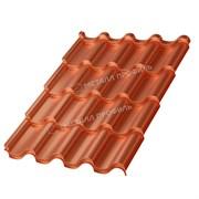 Металлочерепица МП Монтерроса-XL (AGNETA-03-Copper\Copper-0.5)