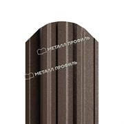 Штакетник металлический МП TRAPEZE-O 16,5х118 (VALORI-20-Violet-0.5)