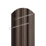 Штакетник металлический МП LАNE-O 16,5х99 (VALORI-20-Violet-0.5)