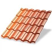Металлочерепица МП Монтекристо-M (AGNETA-03-Copper\Copper-0.5)