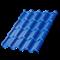 Металлочерепица МП Монтерроса-X (PURMAN-20-0.5) - фото 9589