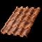 Металлочерепица МП Монтерроса-X (КЛМА-02-Anticato-0.5) - фото 9601