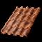 Металлочерепица МП Монтерроса-S (КЛМА-02-Anticato-0.5) - фото 9654