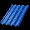 Металлочерепица МП Монтерроса-ML (PURMAN-20-0.5) - фото 9825